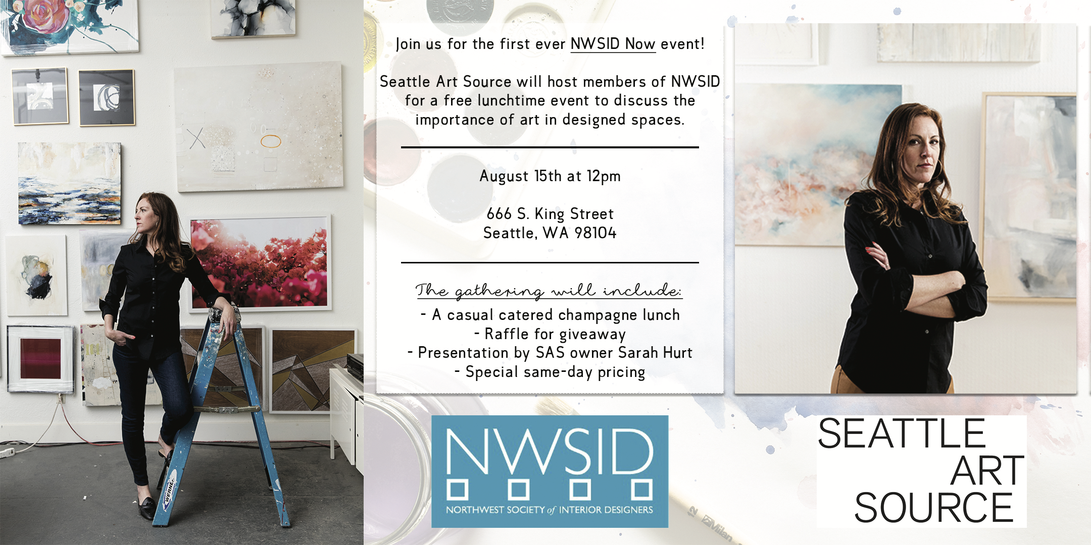 Nwsid Now Luncheon At Seattle Art Source Northwest Society Of Interior Designers