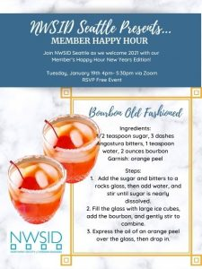 NWSID Member's Happy Hour - New Years Edition!